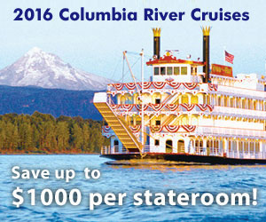 Columbia River Cruises - I'm on a boat!