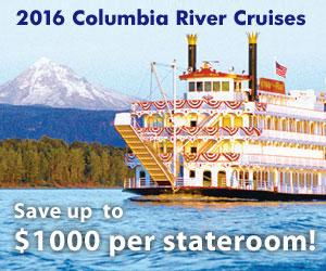 Columbia River Cruises : I'm on a boat!
