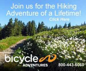 Bicycle Adventures - Hiking Tours in Mt Hood : Our 6-day all-inclusive adventure provides 1st class lodging within the park, plus daily hikes to beautiful lakes, creeks & rivers, through rain forests & coastal beaches.