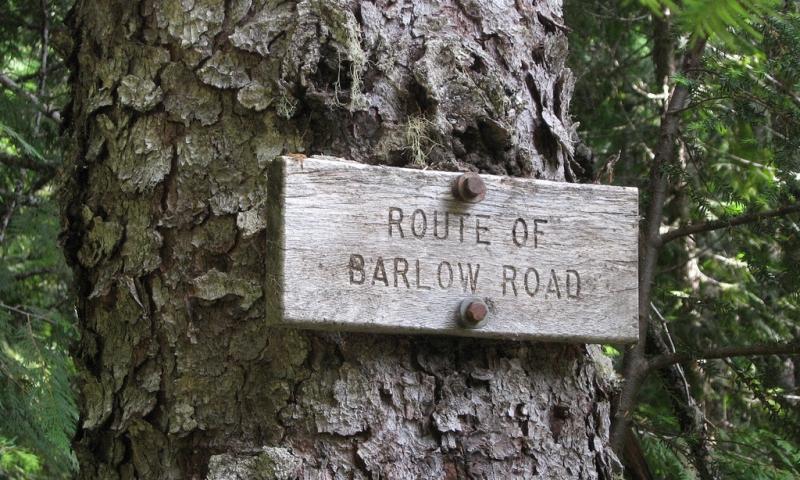 Barlow Road Oregon