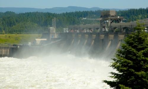 Mount Hood Attractions Bonneville Dam