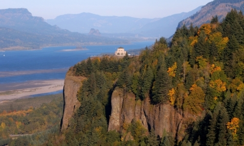 Hood River Attractions Crown Point