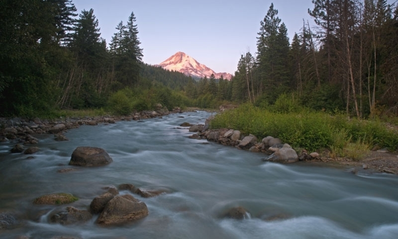 River in Mount Hood National Forest