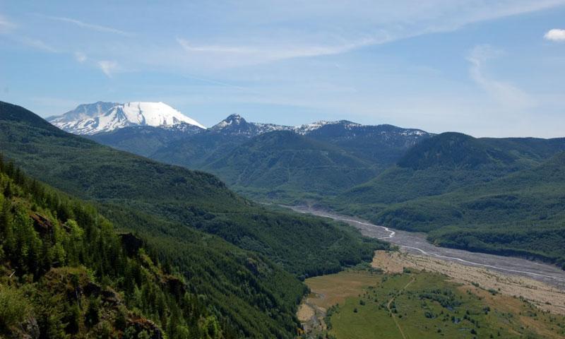 Mount Saint Helens in Oregon