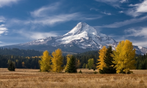 Mount Hood Oregon Cascade Mountains