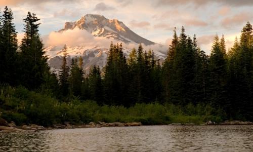 Mirror Lake Hiking Trail Mount Hood