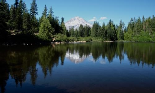 Mount Hood Mirror Lake Oregon