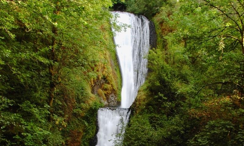 Hood River Oregon Waterfall