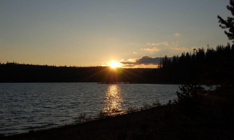 Clear Lake Mount Hood Oregon