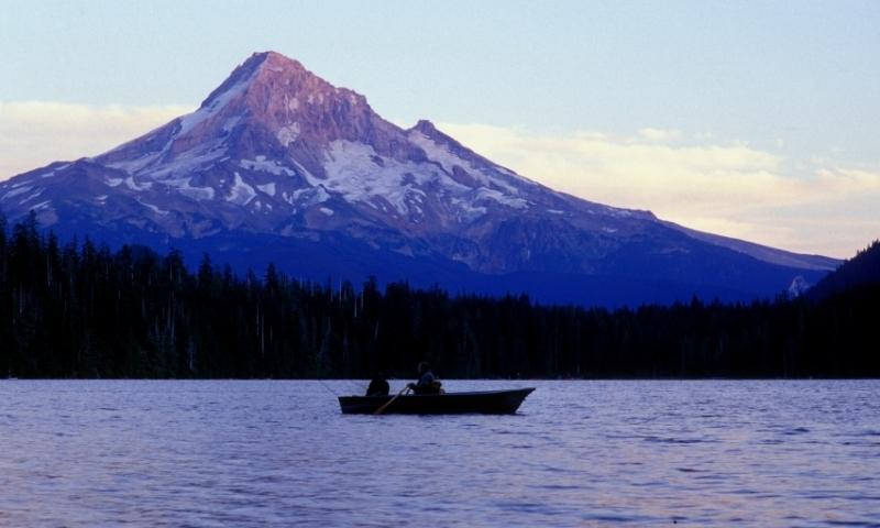 Fishing on Lost Lake