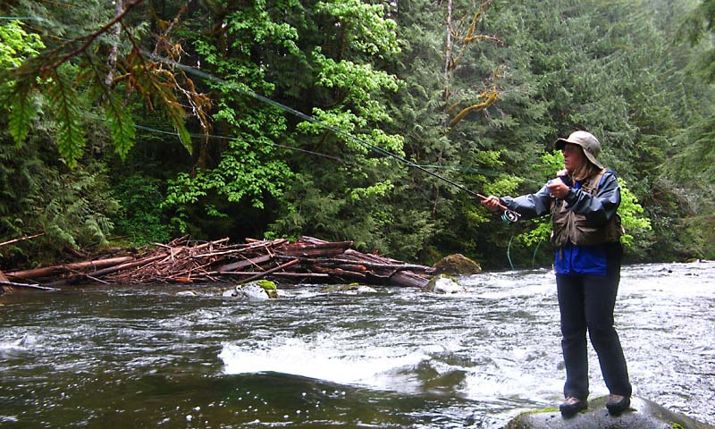 Salmon River Oregon Fly Fishing Camping Boating Alltrips