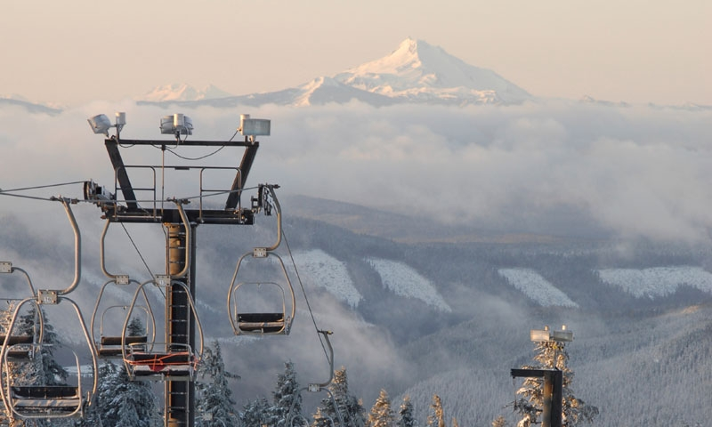 Chair Lift at Timberline Ski Area