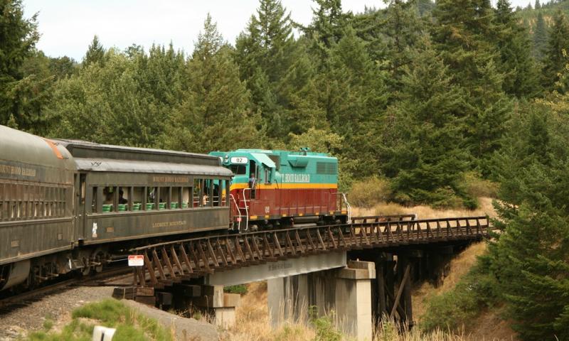 Mt Hood Train