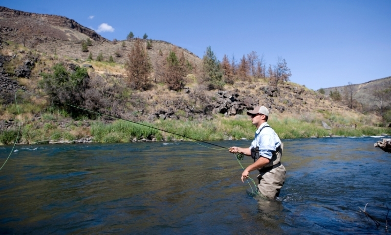 Fly Fishing on the Deschutes River