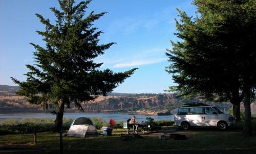 Mount Hood Camping