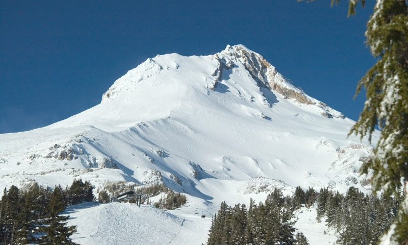 Image result for skiing on mount hood