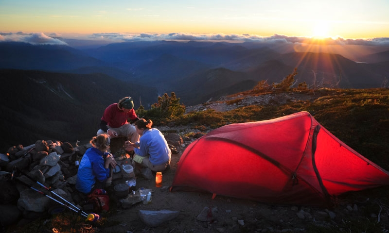 Backpacking in the Mount Hood Wilderness