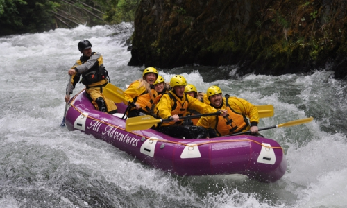 Mount Hood Oregon Whitewater Rafting