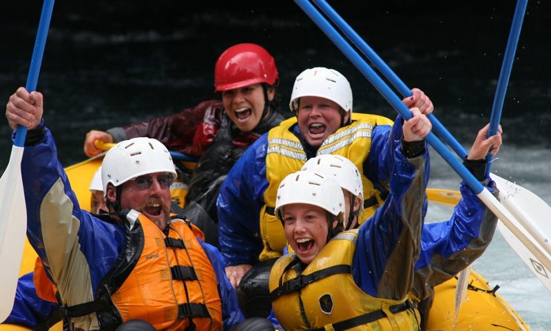 Whitewater Rafting the White Salmon River