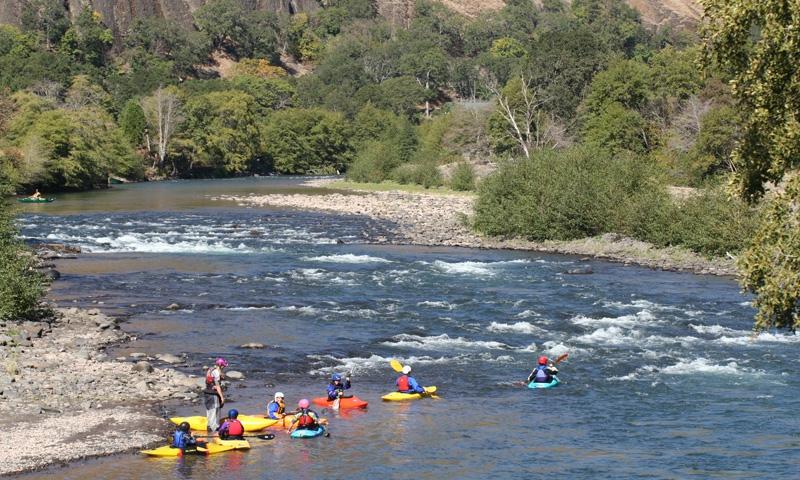 Kayaking the Klickitat River