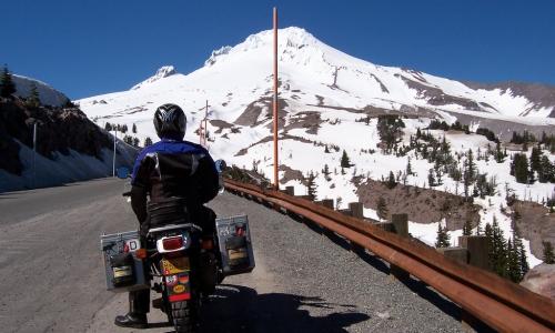 Mount Hood Motorcycle