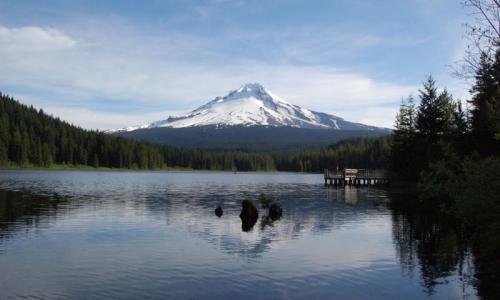 Mount Hood Trillium Lake Oregon