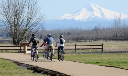 Mount Hood Biking