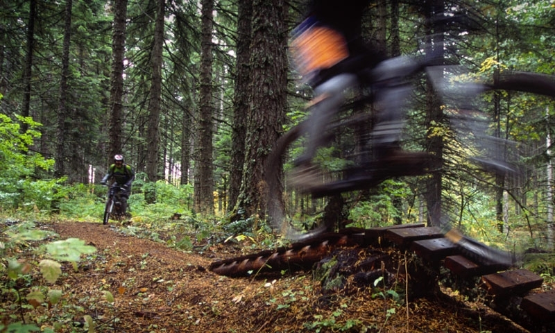 Mountain Biking in Hood River