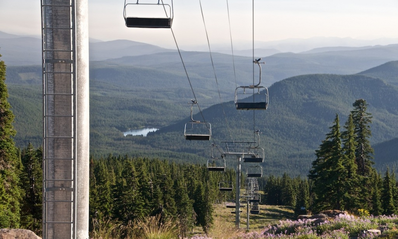 Mount Hood Chairlift Rides