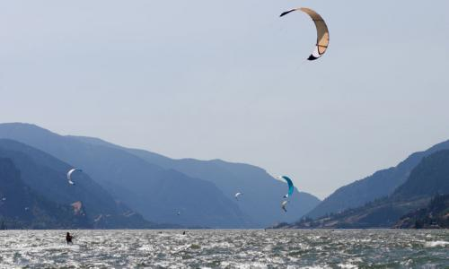 Columbia River Kite Boarding