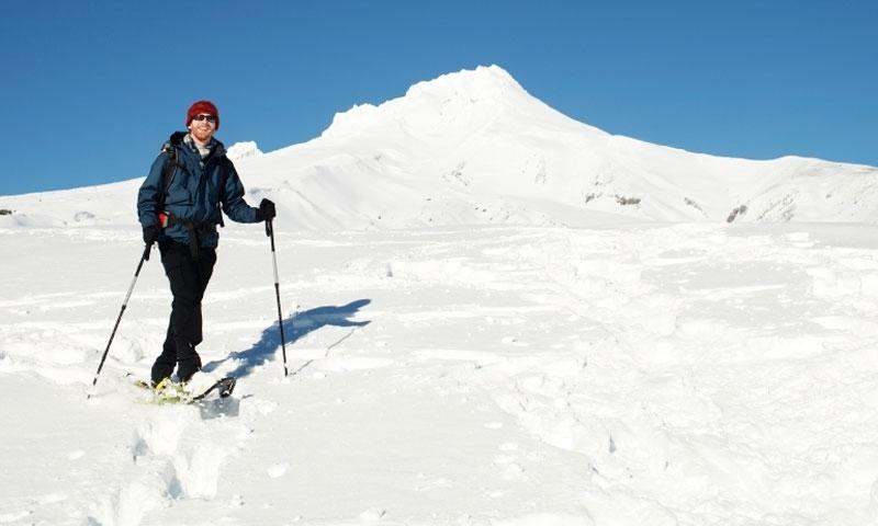 Mount Hood Oregon Snowshoeing