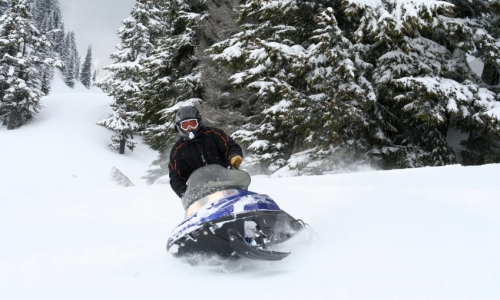 Washington Cascades Snowmobiling