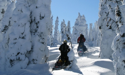 Mount Hood Snowmobiling